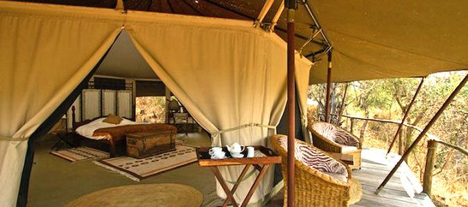 Katavi tent, Tanzania