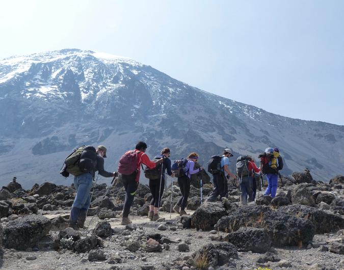 Kilimanjaro, hiking, Tanzania