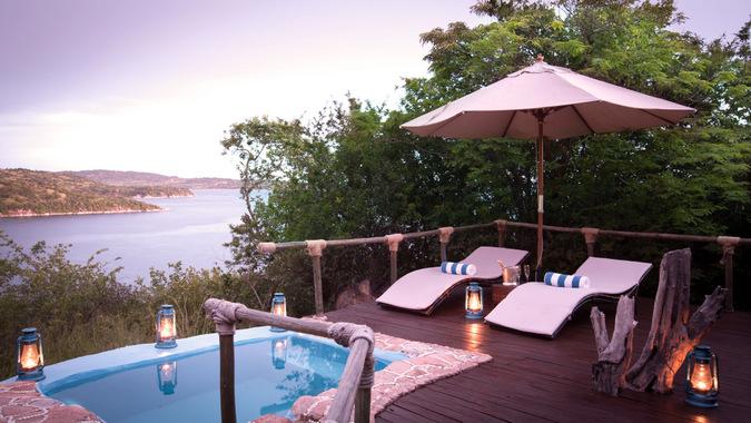 Lupita plunge pool, Tanzania