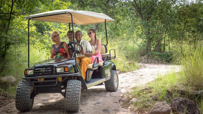 Lupita Golf Cart, Tanzania