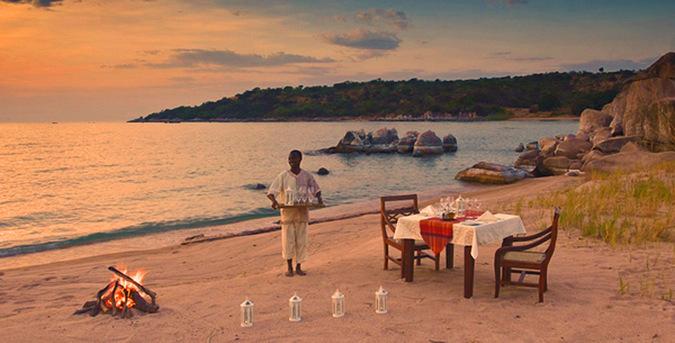 Lupita Lakeshore Dinner, Lake Tanganyika