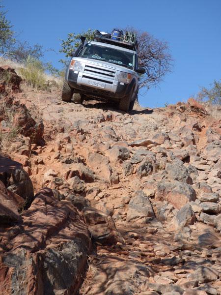 Land Rover, Damaraland and Kaokoveld, Namibia