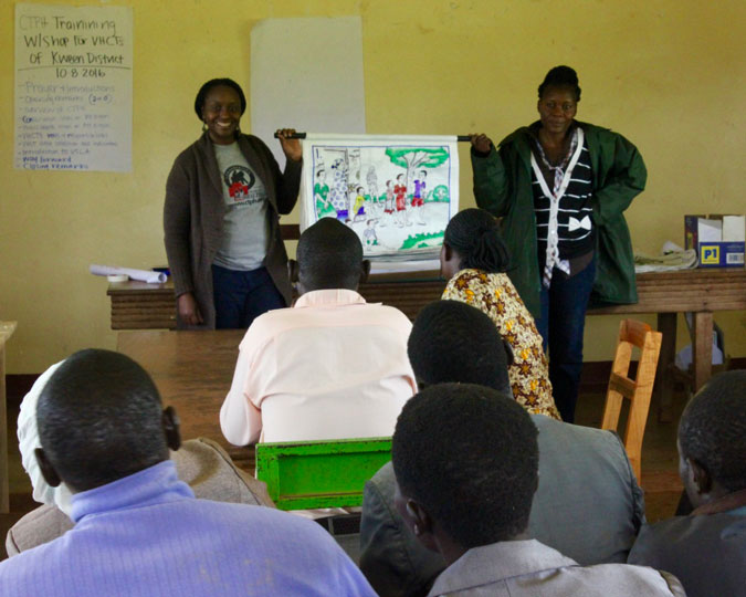 mountain gorilla conservation, community education, Uganda
