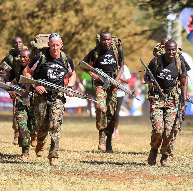 ForRangers, Lewa Safaricom Marathon, Lewa Wildlife conservancy, Kenya