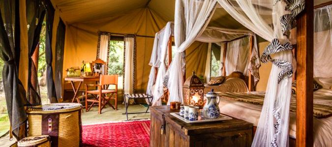 Serengeti tent, Tanzania