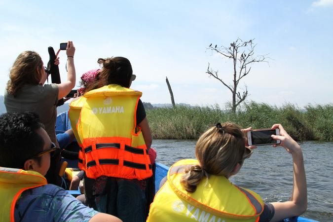 Punishment Island on Lake Bunyonyi, Uganda