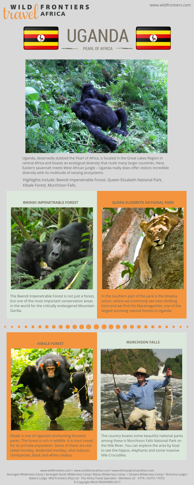 Uganda, activities, inforgraphic