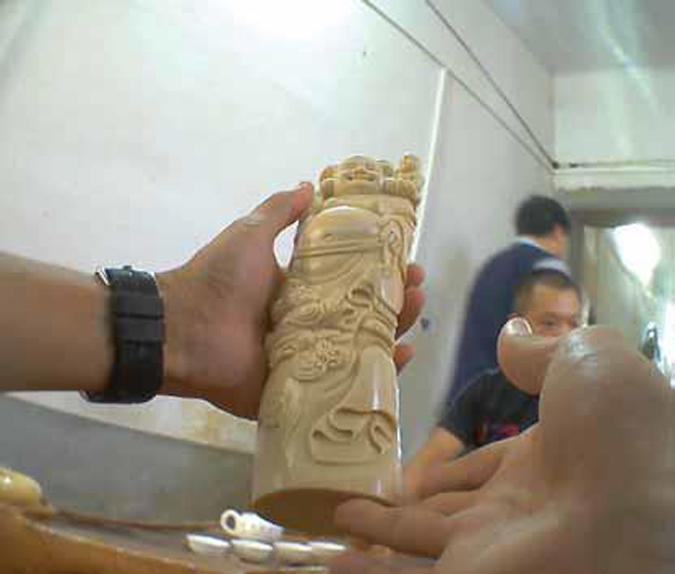 ivory product, China