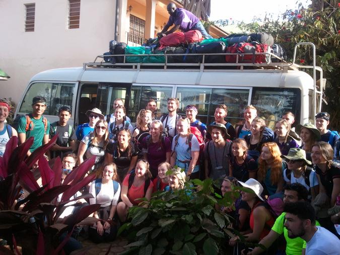 tour group, Zara Tours, Tanzania