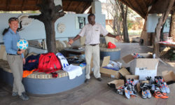 Walter Hörmann, Kafunta Safari Lodge, football donations, South Luangwa, Zambia