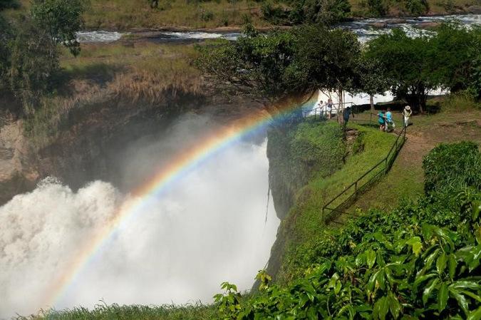 waterfall, Murchison Falls National Park