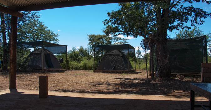 tents, accommodation, International Anti-Poaching Foundation (IAPF), Victoria Falls, Zimbabwe