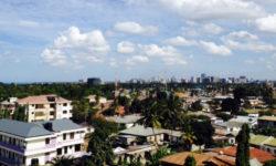 Dar es Salaam, Tanzania, city view