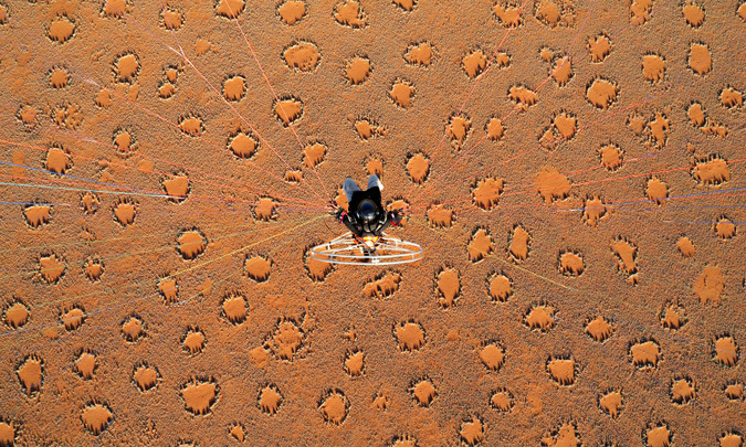 fairy circles, Namib Desert, Namibia