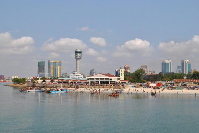 Dar es Salaam, Tanzania, beach front