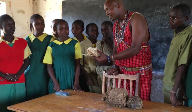 education, wildlife, conservation, Il Ngwesi, Kenya