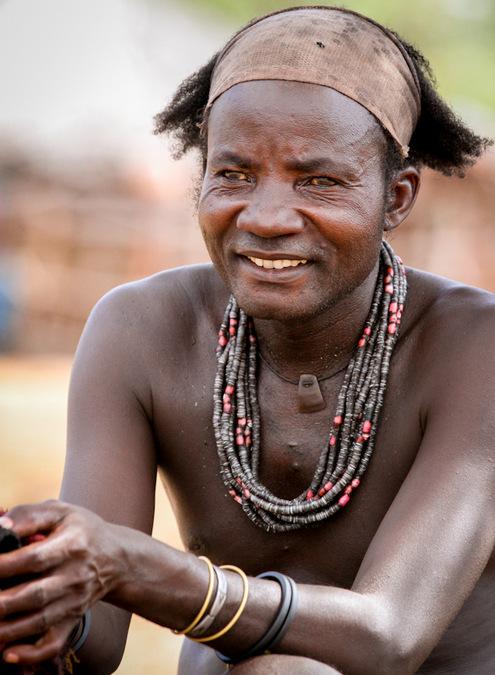 Himba tribe, children, culture, Kunene, Namibia