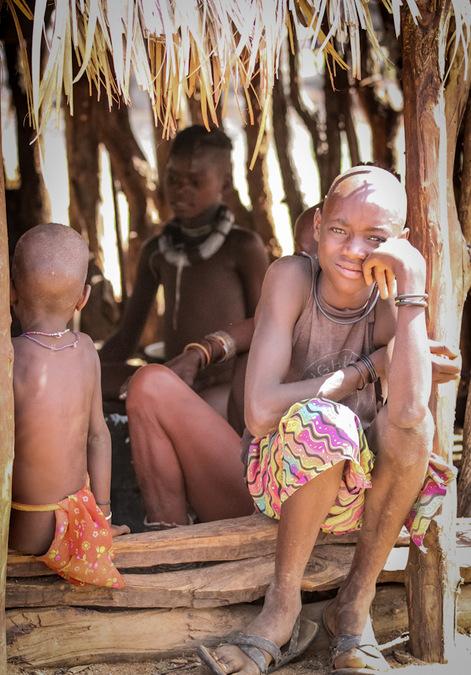 Himba tribe, culture, Kunene, Namibia