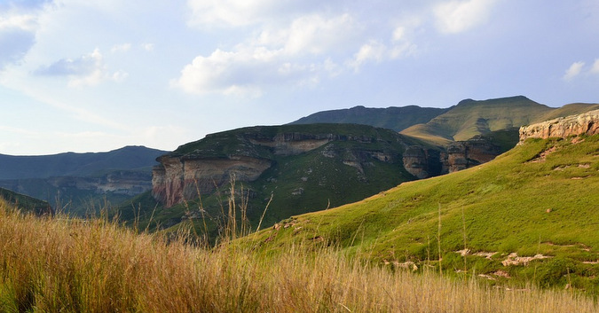 landscape, Golden Gate Highlands National Park, South Africa