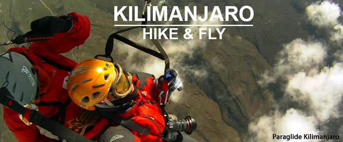 Paragliding and hiking Mount Kilimanjaro