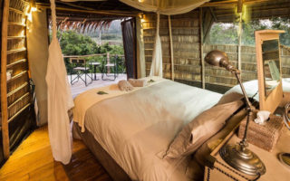 Comfortable accommodation while on safari in Africa