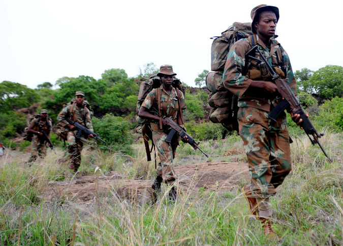 Rangers patrol the Kruger