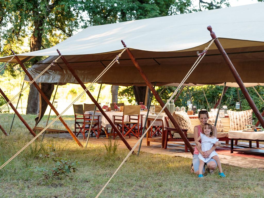 Nkonzi Camp, South Luangwa, Zambia with Africa Geographic