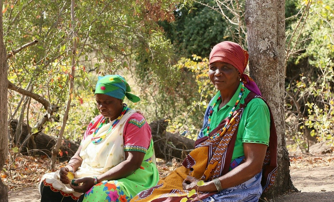 The grandmothers at Baleni Cultural Camp in Limpopo, South Africa