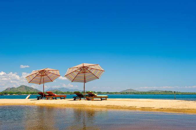 Lake Malawi sun chairs