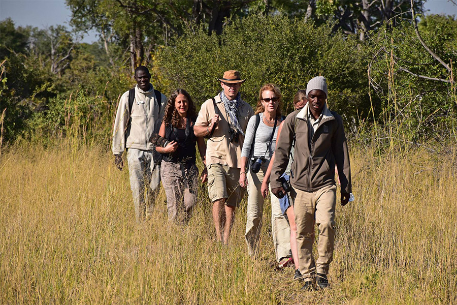 Walking safari in the Okavango Delta with Africa Geographic