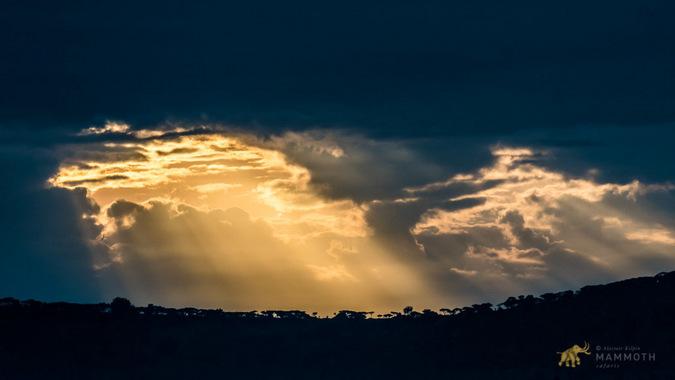 Sunrise over Akagera National Park, Rwanda
