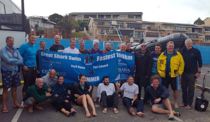 Swimmers attempt fastest 100km in one day