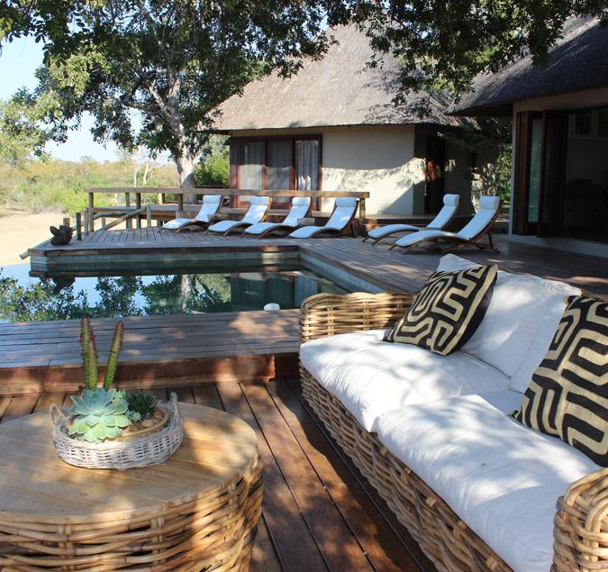 Luxury lodge in Klaserie, Greater Kruger National Park