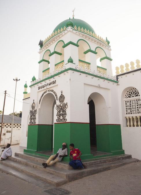 Mosque in Lamu Town, Kenya