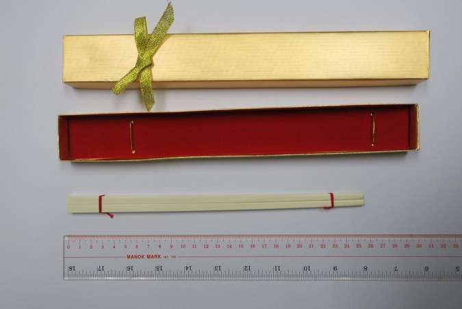 Ivory chopsticks made out of ivory