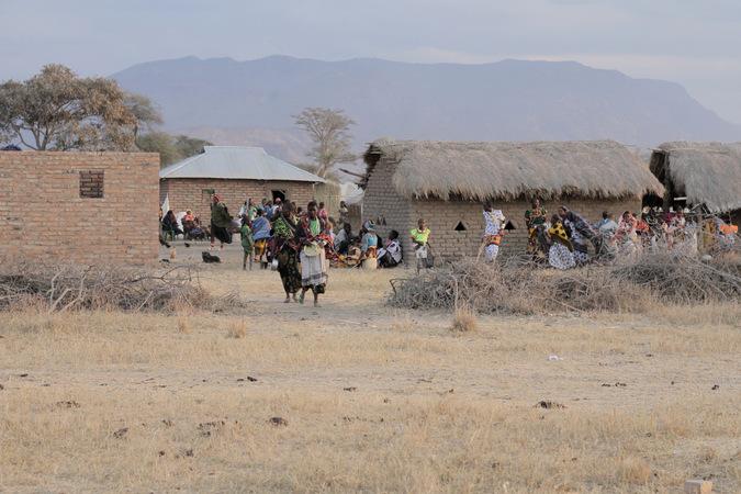 Sukuma village in Tanzania