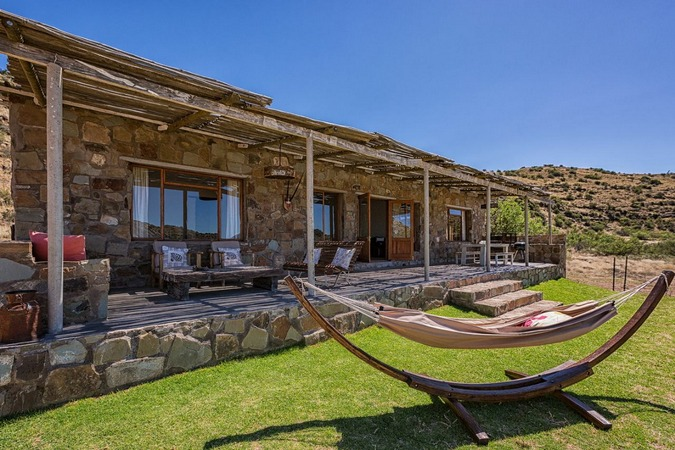 The accommodation at Karoo Lodge Conservancy, Karoo, South Africa