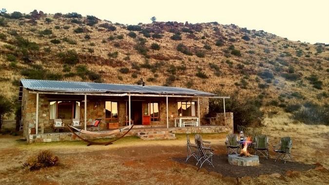 Lodge accommodation at Karoo Lodge Conservancy, Karoo, South Africa