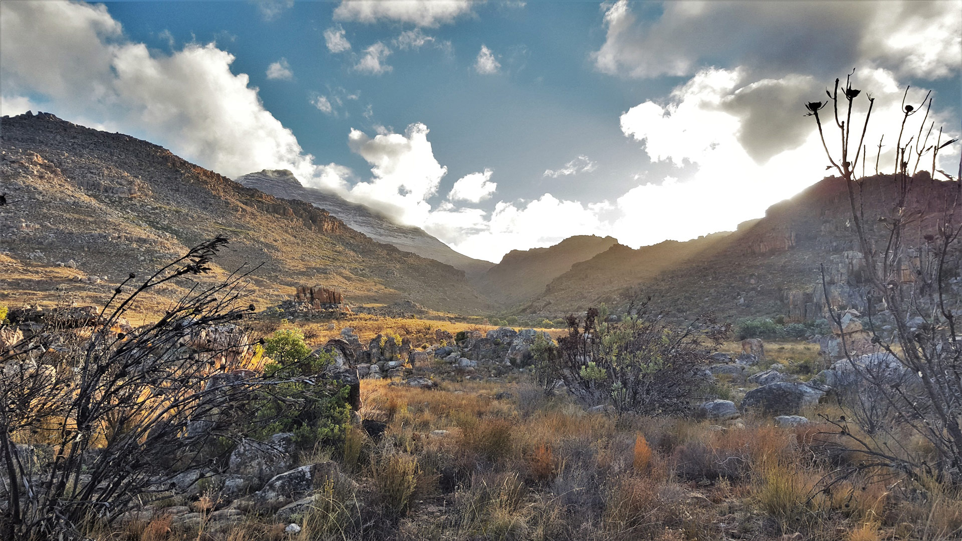 A fantastic view from the Maltese Cross parking area in the Cederberg