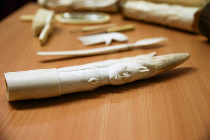 Ivory antiques