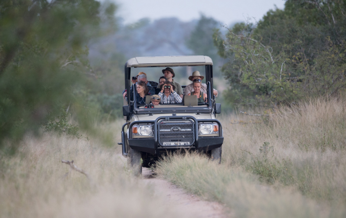 Game drive, Kruger National Park, South Africa