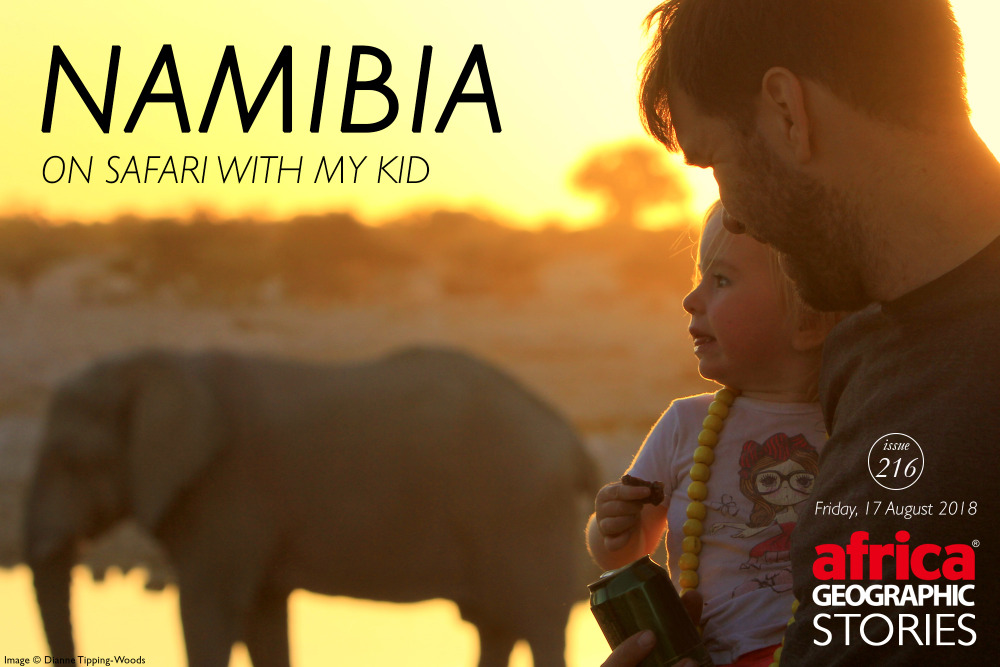 Namibia - on safari with my kid