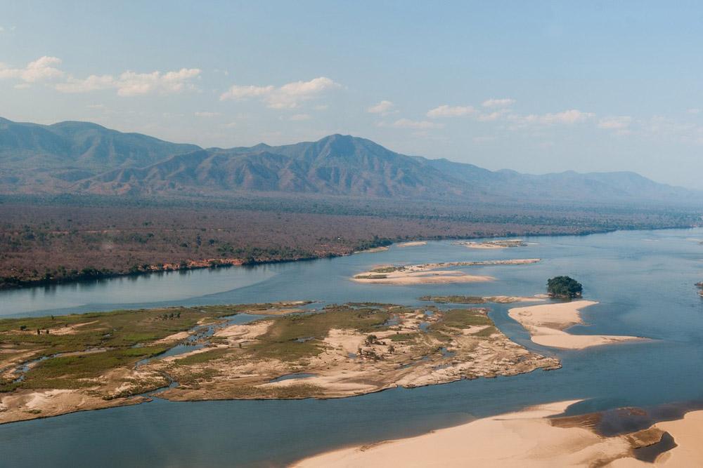 The Zambezi River in Lower ZambeziNational Park