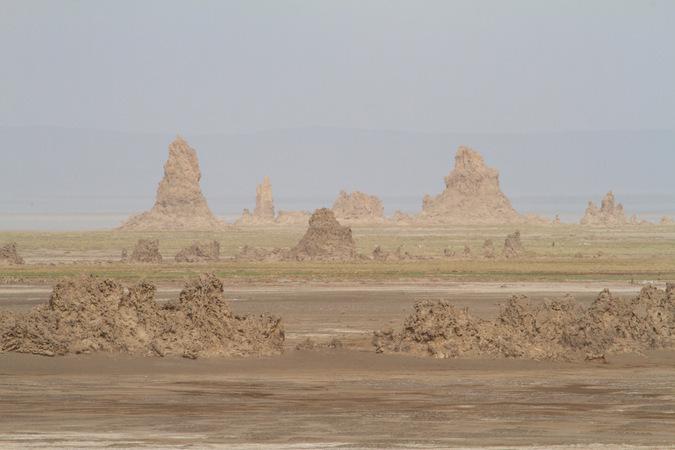 Landscape outside of Djibouti City