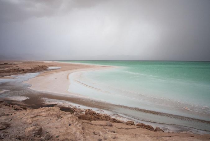 Lac Abbe in Djibouti
