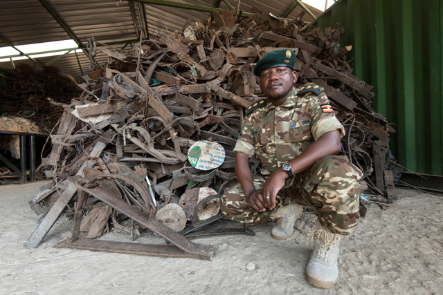 Julius Obwona – Tusk Wildlife Ranger Award Winner 2018
