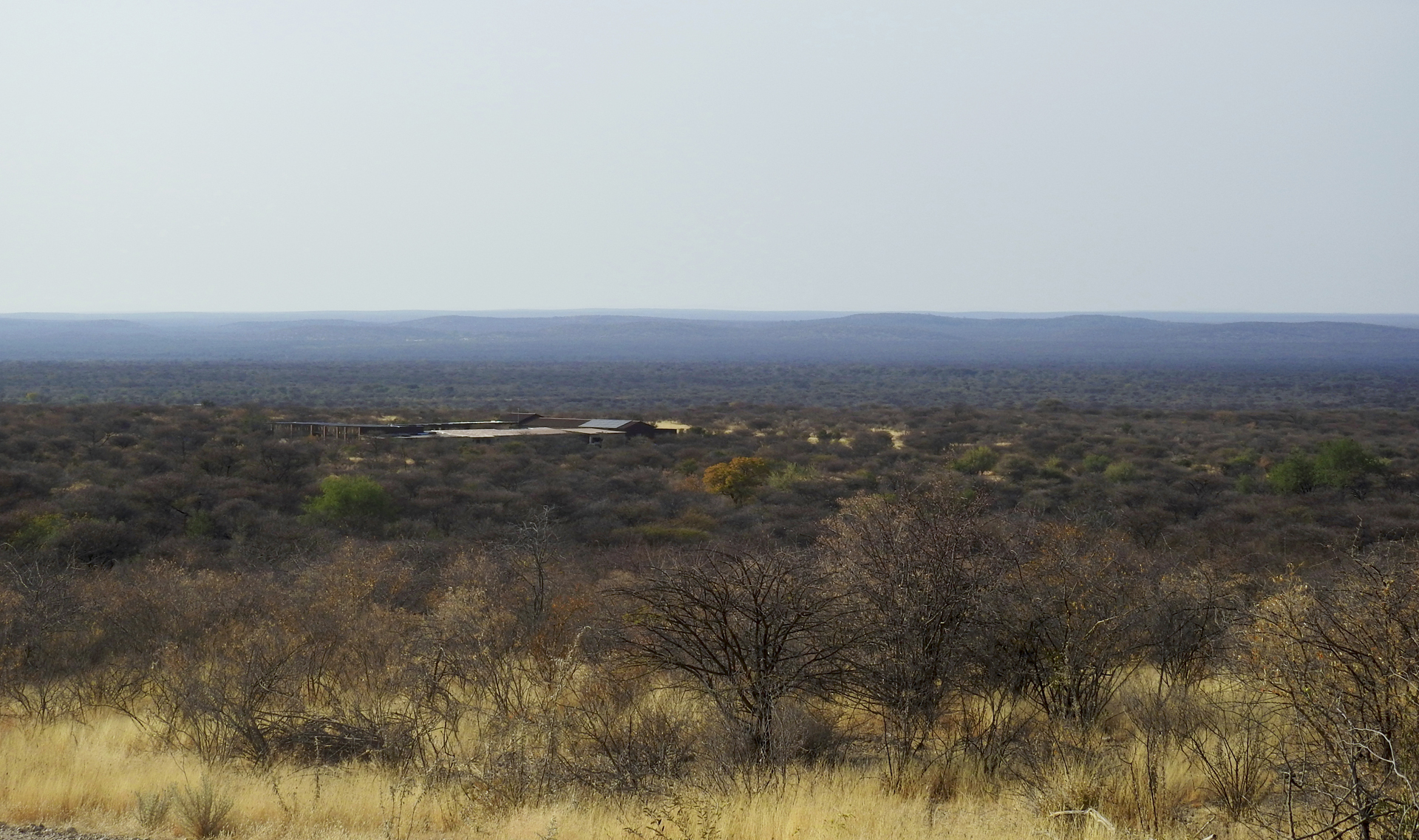 Landscape showing REST centre in Namibia