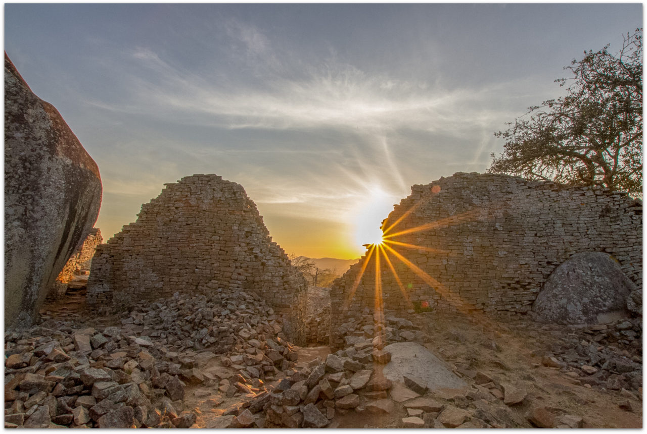 Ruins of the Great Zimbabwe