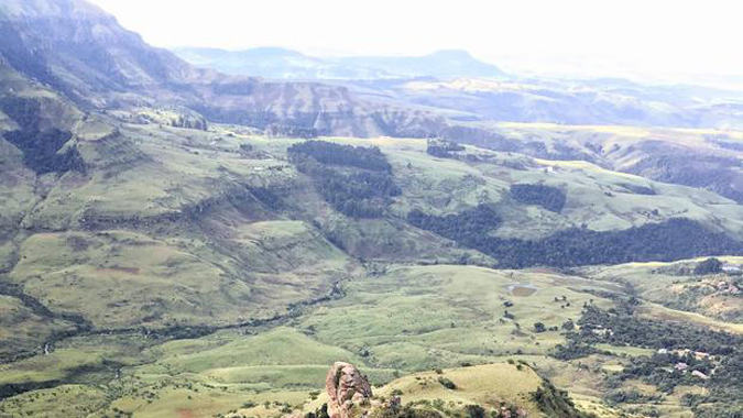 Monk's Cowl Park in the central Drakensberg
