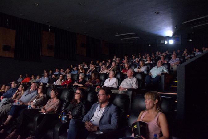 STROOP audience during the premier screening in Johannesburg